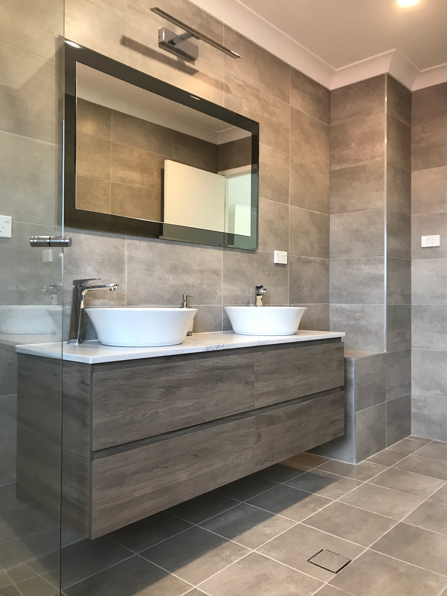 Bathroom Amp Ensuite Renovation Hornsby Neutrals At Their