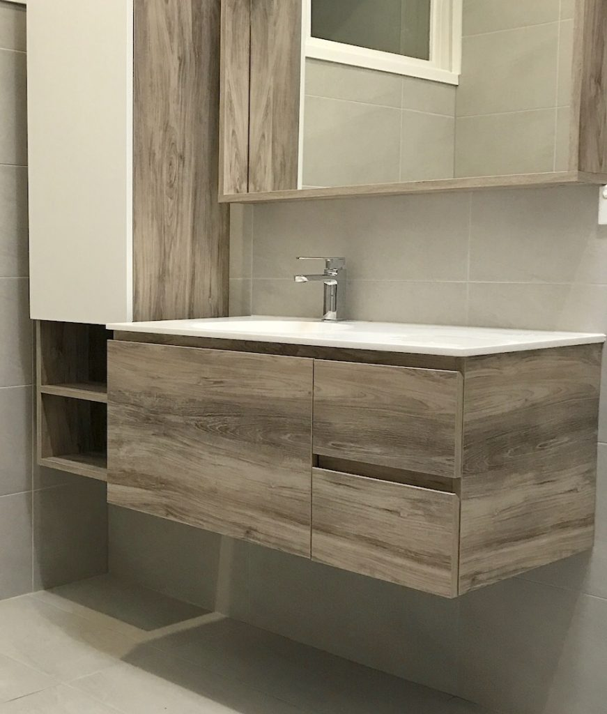 Tallboy with matching vanity